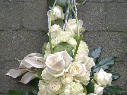 Ellen Deelen natuurlijke bloem-creaties graftoef lang 2 groen wit