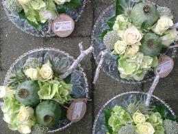 Ellen Deelen natuurlijke bloem creaties aankleding statafels